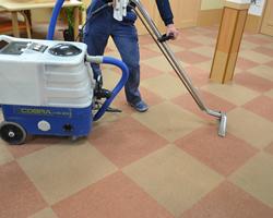 4.スチーム掃除機で全体を清掃